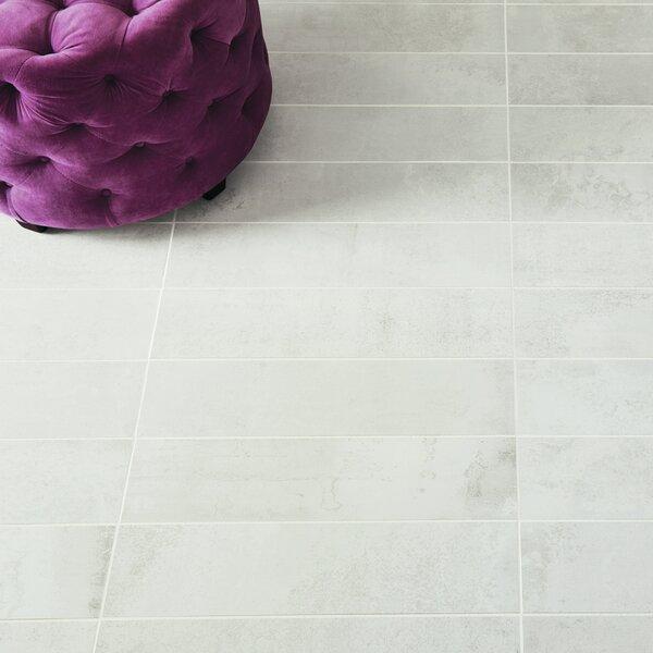 Common Core 2 x 12 Porcelain Mosaic Tile in Chalk by PIXL