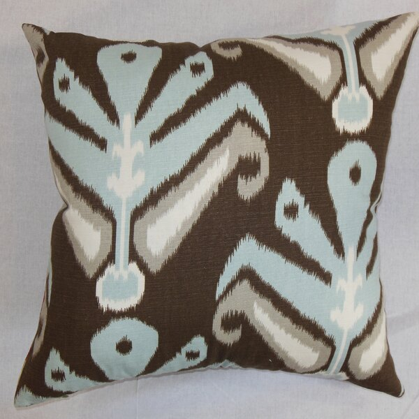 Sakon Cotton Throw Pillow by The Pillow Collection