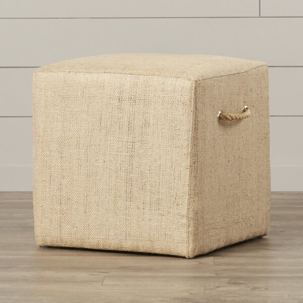 Ollie Linen Stool by August Grove