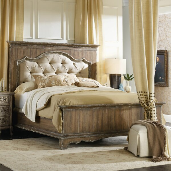 Chatelet Upholstered Panel Bed by Hooker Furniture