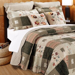 Helma Cotton Reversible Quilt Set