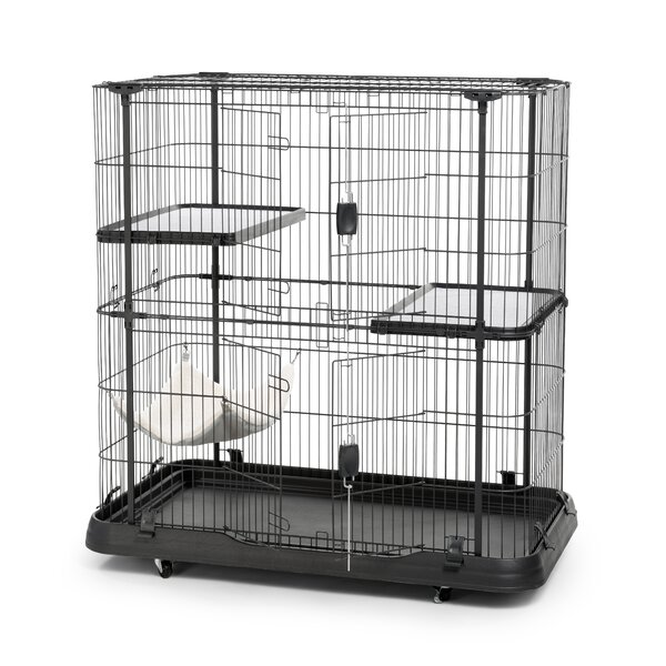 Cat Crate With 3 Level By Prevue Hendryx.