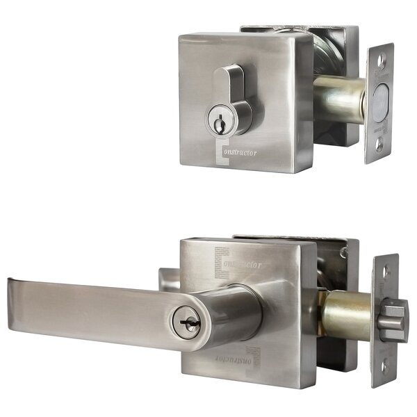 Constructor Guardian Single Cylinder Entrance Leverset by DSD Group