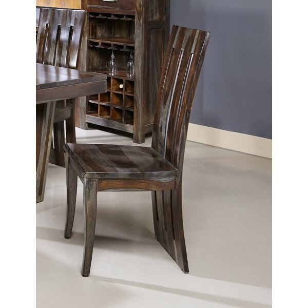 Costas Solid Wood Dining Chair (Set of 2) by Loon Peak