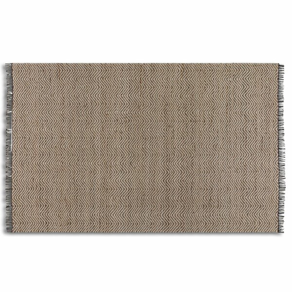 Dunanney Chevron Natural Area Rug by Gracie Oaks