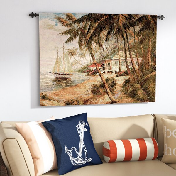 Key West Hideaway Tapestry by Highland Dunes