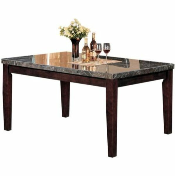 Solid Wood Dining Table By Ebern Designs