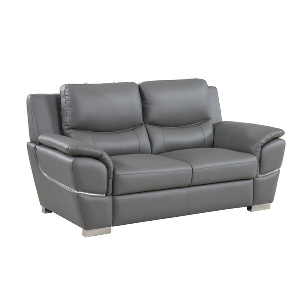 Latest Collection Henton Luxury Upholstered Living Room Loveseat by Latitude Run by Latitude Run