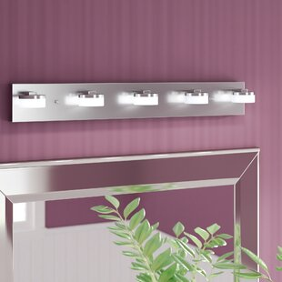 Affordable Price Yanira 5-Light Bath Bar By Orren Ellis