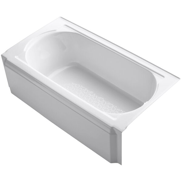 Memoirs Alcove 60 x 34 Soaking Bathtub by Kohler