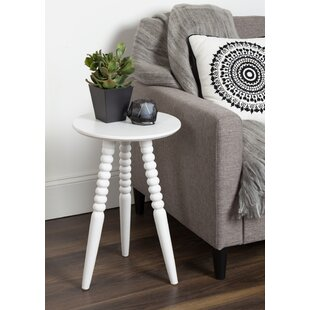 Price comparison Martha Solid Wood Bobbin Leg End Table ByBungalow Rose