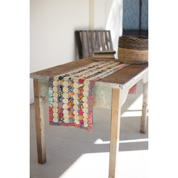 Pellegrino Recycled Kantha Patch Runner by Bungalow Rose