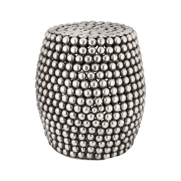 Moorhead Pebble Stool by Bungalow Rose