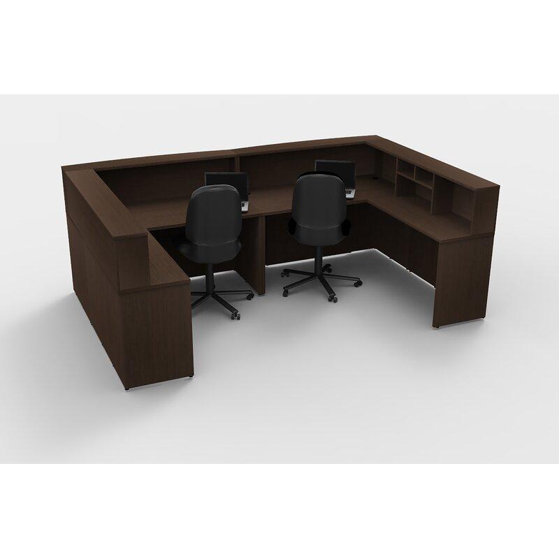 Alviva Office U Shape Reception Desk