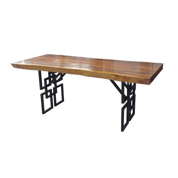 Sariahn Live Edge Dining Table by Bloomsbury Market