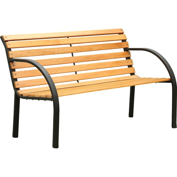 Refined Simplicity Outdoor Garden Bench by Hokku Designs