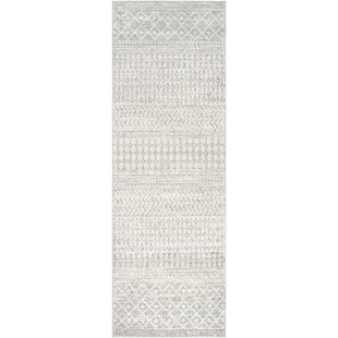 Kreutzer Distressed Gray Area Rug by Union Rustic