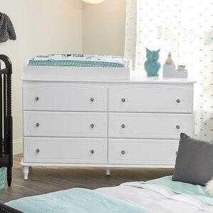 rowan valley laren 6 drawer double dresser
