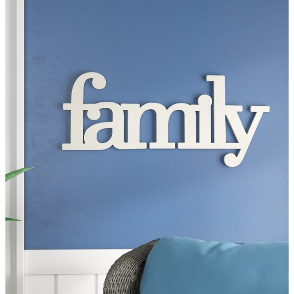 Family Wall Décor by Highland Dunes