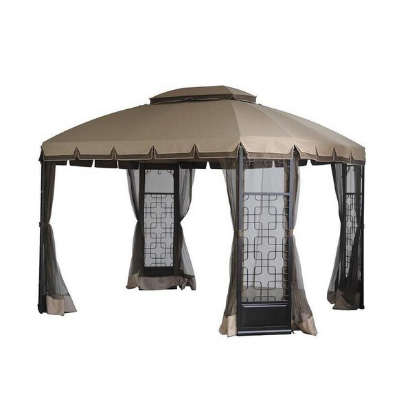 Replacement Canopy (Deluxe) for Trellis Gazebo by Sunjoy