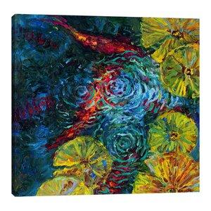 Dieci by Iris Scott Painting Print on Wrapped Canvas by Jaxson Rea