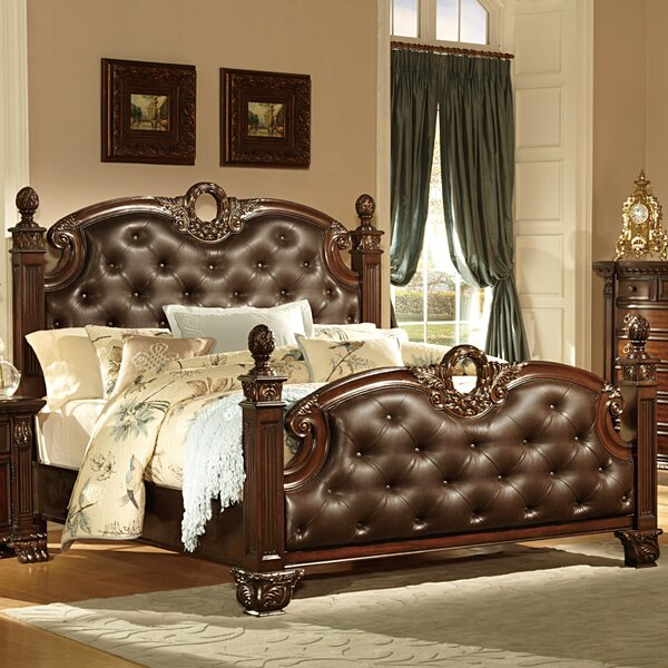 Orleans Upholstered Standard Bed by Woodhaven Hill