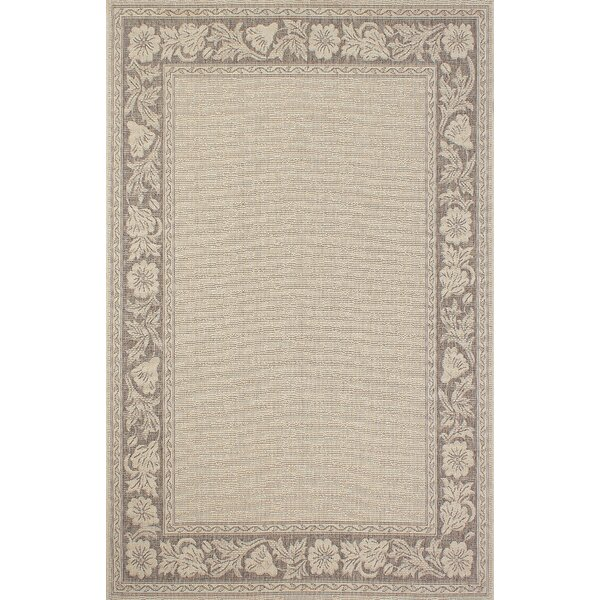 Bahamas Light Brown Indoor/Outdoor Area Rug by Segma Inc.