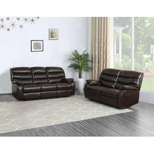 Apoloniusz 2 Piece Reclining Living Room Set by Red Barrel Studio®