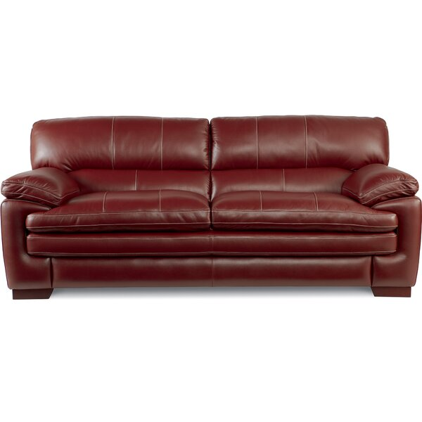 Dexter Leather Sofa by La-Z-Boy
