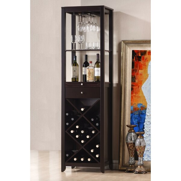 Kinnard Smart Looking Bar with Wine Storage by Winston Porter Winston Porter