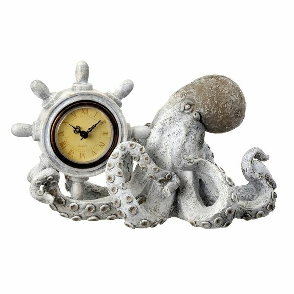 Polystone Octopus with Helm Tabletop by Regency International