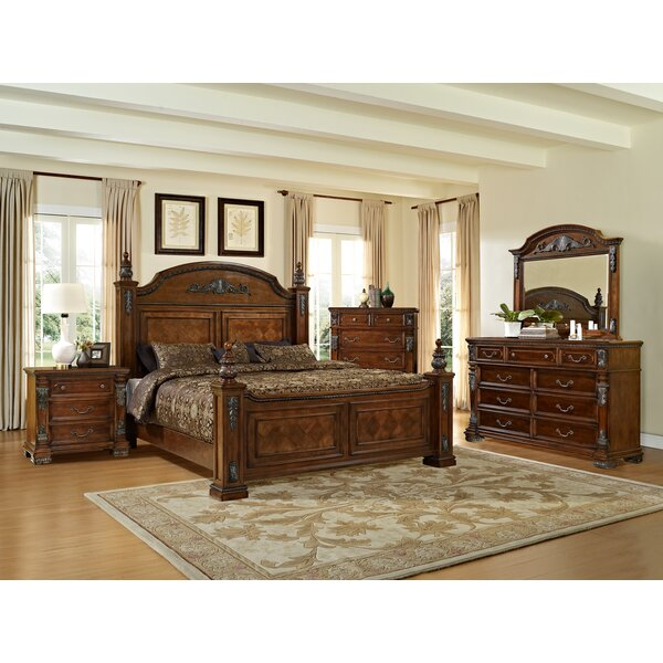 Orleans Panel Configurable Bedroom Set by Fairfax Home Collections
