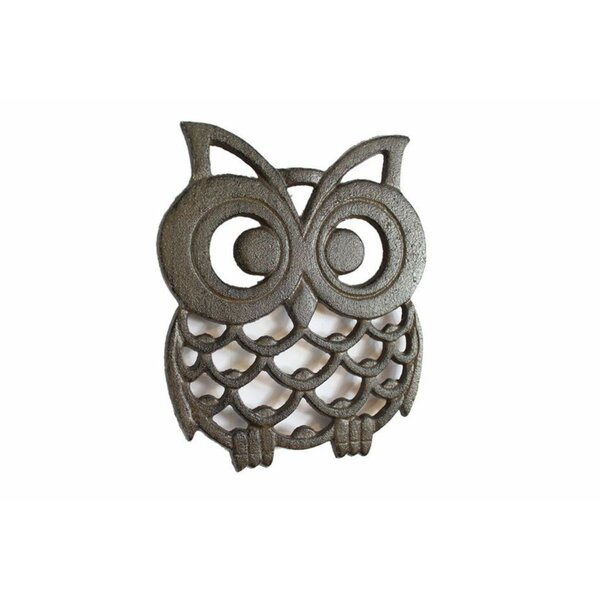Owl Cast Iron Trivet by August Grove