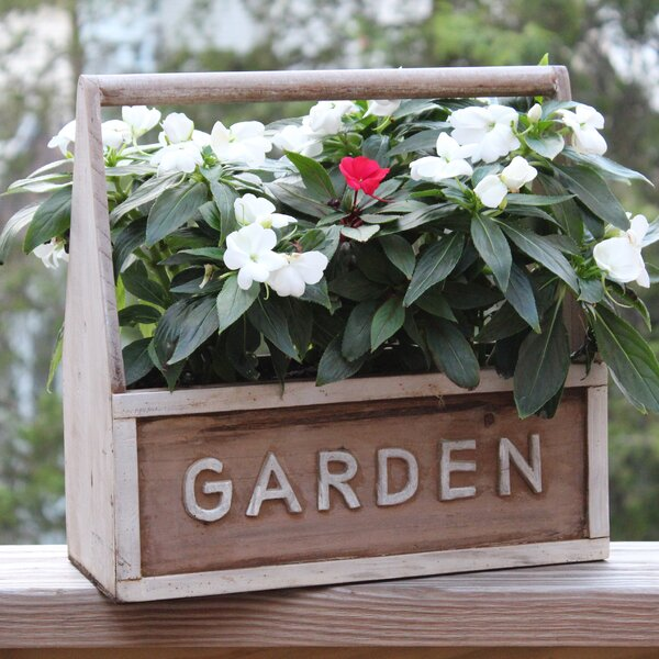 Wood Planter Box by Gardenised