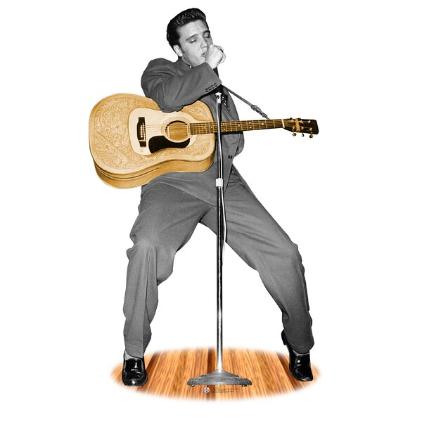 Hollywood Elvis Presley Life-Size Cardboard Stand-Up by Advanced Graphics