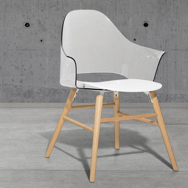 Sinead Solid Wood Dining Chair by Home Etc