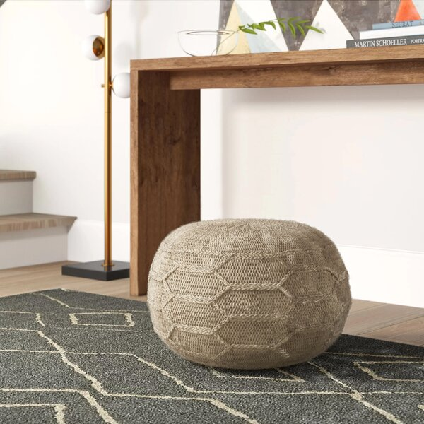 Manske Pouf by Mercury Row