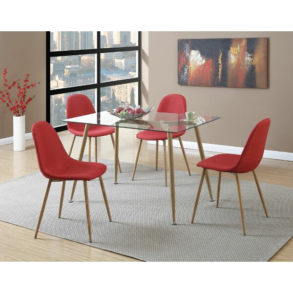Wylie Upholstered Dining Chair (Set of 4) by George Oliver