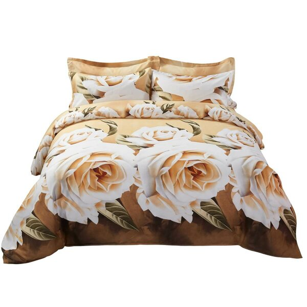 Maggio Floral Bedding Reversible Duvet Cover Set