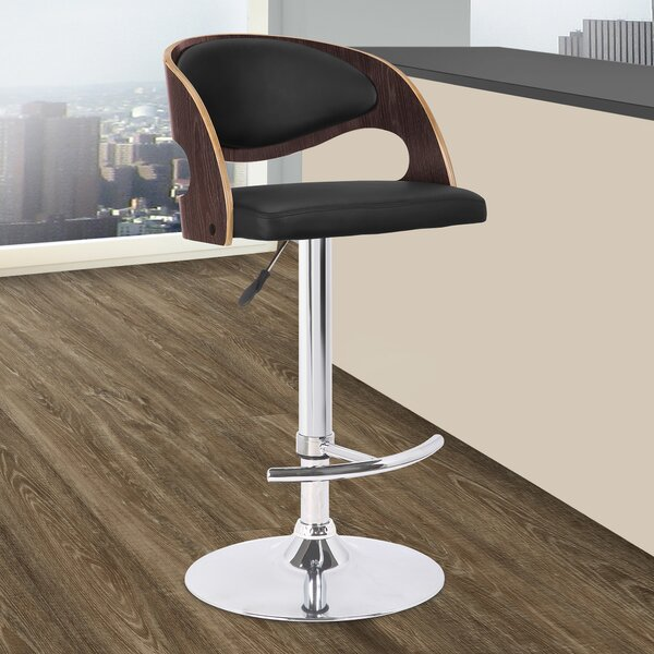 Chaffins Adjustable Height Swivel Bar Stool by George Oliver