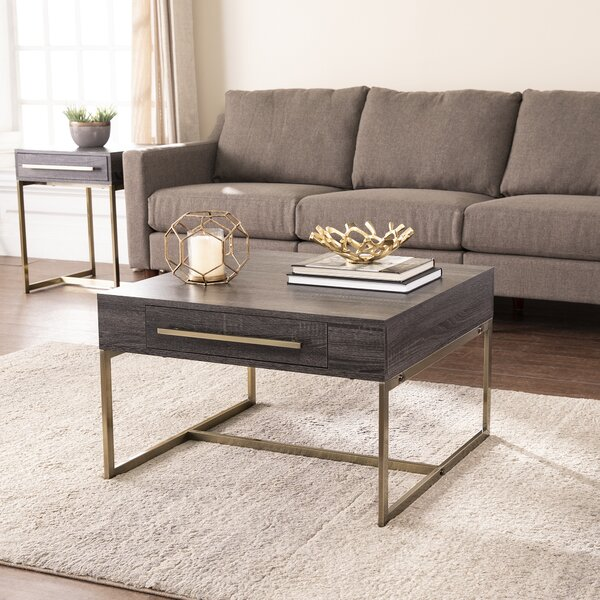 Akmonton Coffee Table With Storage By Everly Quinn