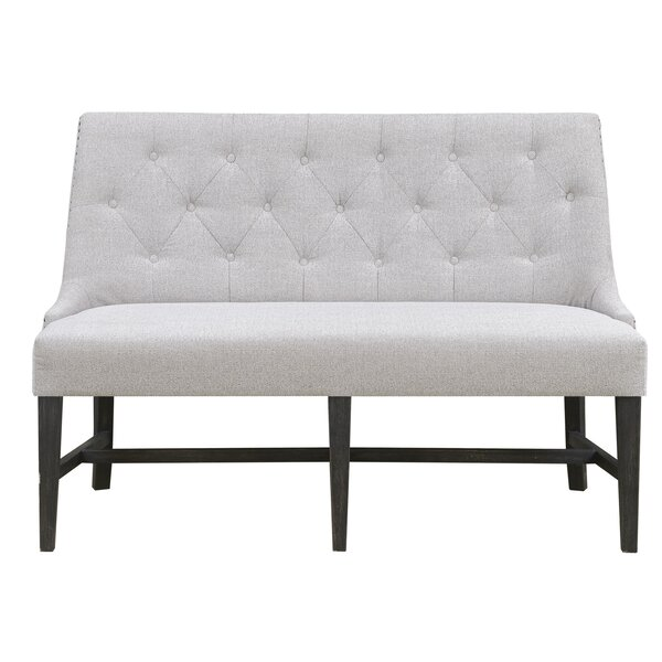 Largent  Upholstered Bench by Ophelia & Co.