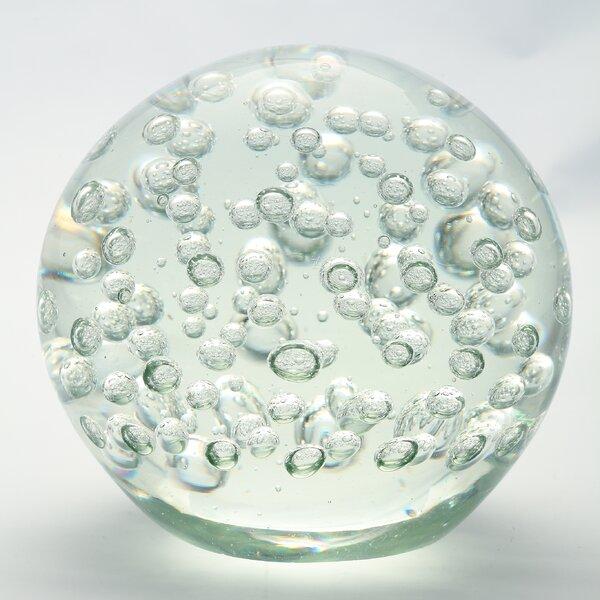 Decorative Ball Water Globe by Diamond Star Glass