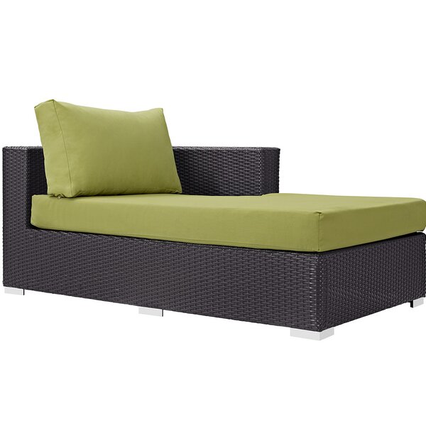 Brentwood Right Arm Chaise Sectional Piece with Cushions by Sol 72 Outdoor