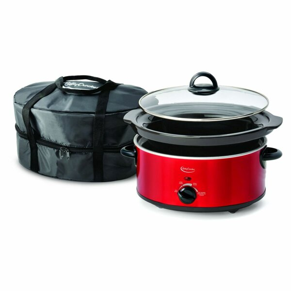 5-Quart Slow Cooker with Travel Bag by Betty Crocker