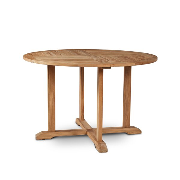 Curtis Folding Teak Dining Table by HiTeak Furniture