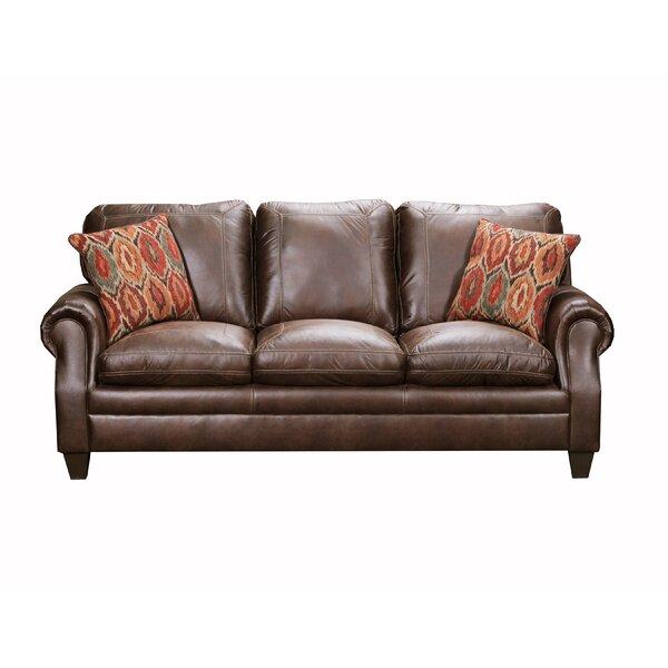 Hepler 88-inch Round Arm Sofa by Alcott Hill Alcott Hill