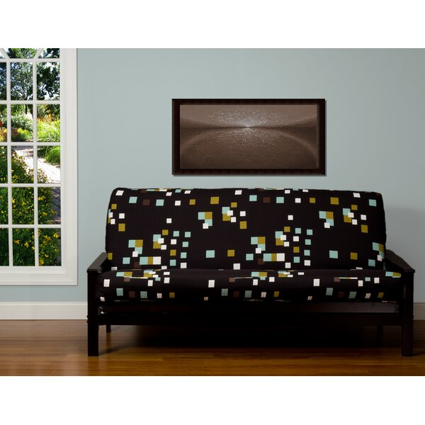 Pattern Zipper Box Cushion Futon Slipcover by Brayden Studio