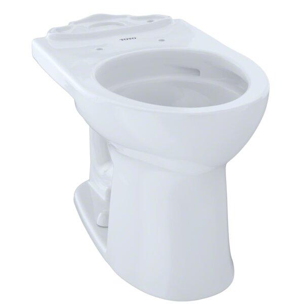 Drake® II Dual Flush Round Toilet Bowl by Toto
