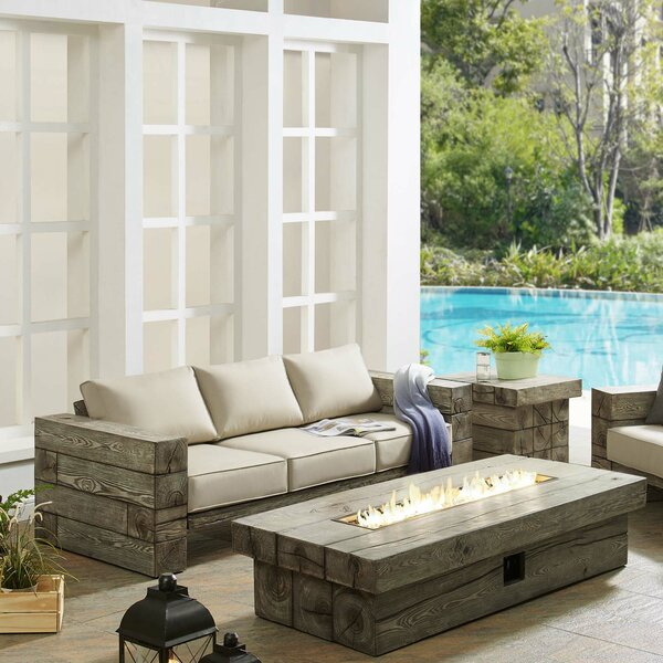 Novalee 2 Piece Sofa Seating Group with Sunbrella Cushions by Millwood Pines